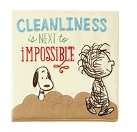 Snoopy Cleanlinese Ceramic Tile