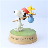 Snoopy Love where you're headed