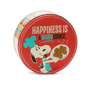 Snoopy Cookie Tin Container