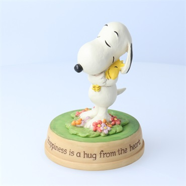 Snoopy Happiness is hug from the heart