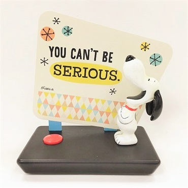 Snoopy Figurine With Sound