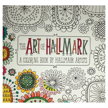 Paint Book The ART OF HALLMARK【大人の塗り絵】