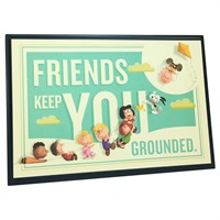 Snoopy Plaque Friends Ground You