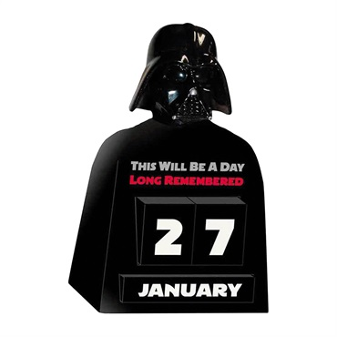 Star Wars  Darth Vader  Perpetual Calendar