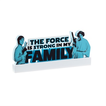 Star Wars  The Force Word Cutout