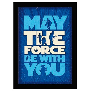 Star Wars  The Force Framed Print