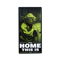 Star Wars  Yoda  Tin Sign