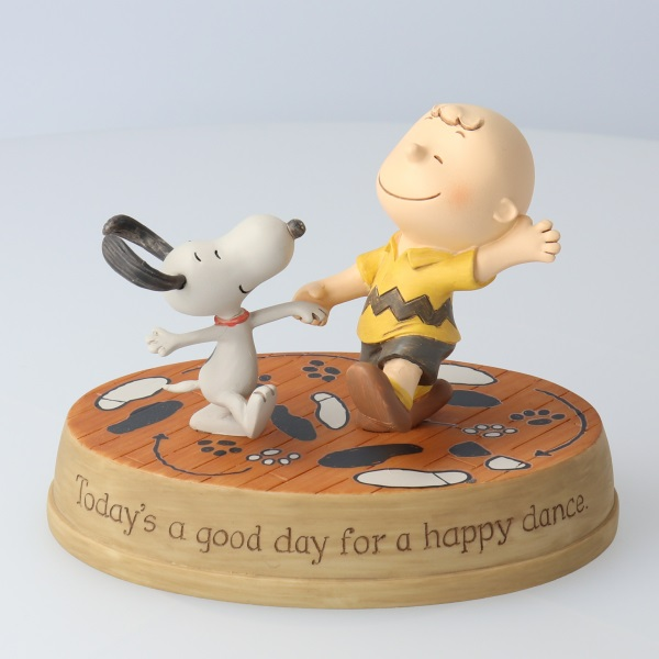 Snoopy Happy Dance Figurine