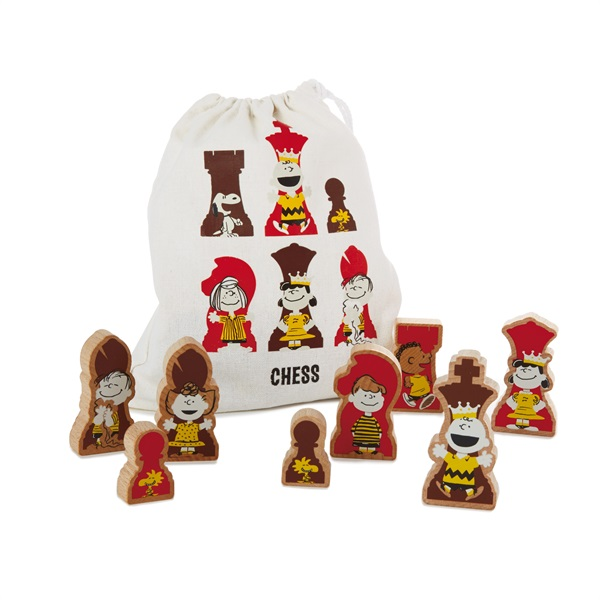 Snoopy Chess Pieces