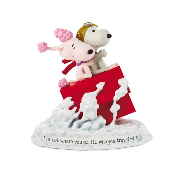 Snoopy Flying Ace and Fifi Figurine