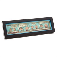 Charlie Brown and Linus Framed Comic Strip