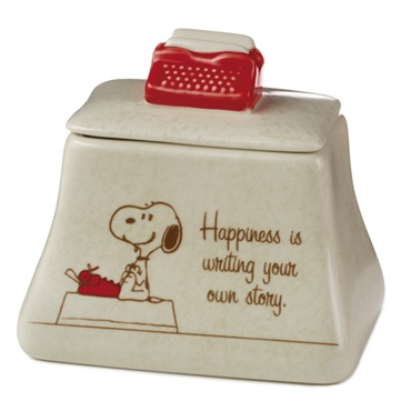 Snoopy Typewriter Ceramic Box