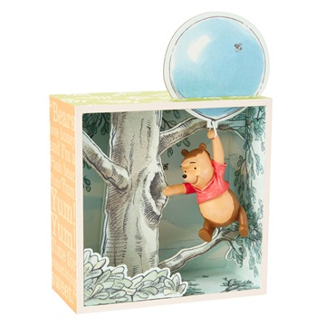 Disney Winnie the Pooh and the Honey Tree Limited-Edition Shadow Box
