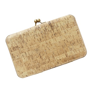 Cork Clutch Purse