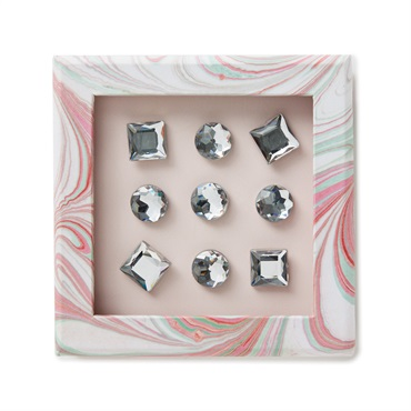 Gem Push Pins, Pack of 9