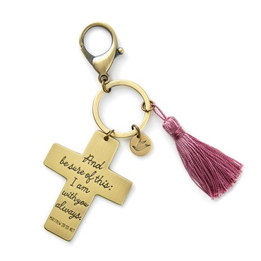 I Am With You Cross Accessory Clip