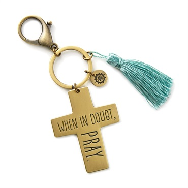 Pray Cross Accessory Clip