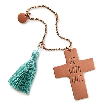 Go With God Car Mirror Charm
