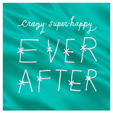 Crazy Super Happy Ever After Wedding Card【結婚お祝い/Studio Ink】