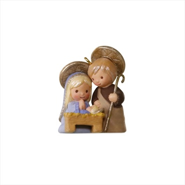 Li'l Holy Family Mini Ornament