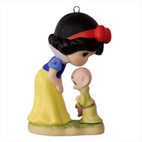 Precious Moments(R) Disney Snow White and Dopey Porcelain Ornament