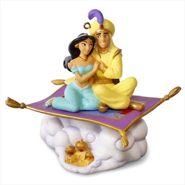 Disney Aladdin 25th Anniversary Ornament With Music