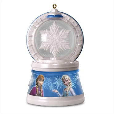 Disney Frozen Elsa's Magic Snowflake Ornament With Light and Music
