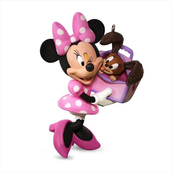 Disney Minnie Mouse Girl's Best Friend Ornament