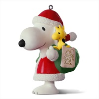 PEANUTS(R) Spotlight on Snoopy 20th Anniversary Porcelain Ornament