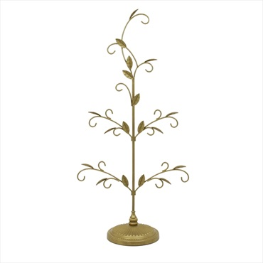 Gold Miniature Display Tree