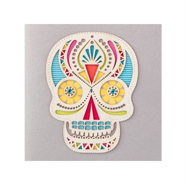Sugar Skull Birthday Card【誕生お祝い/Signature】