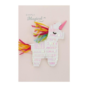 Unicorn Simply Magical Birthday Card【誕生お祝い/Signature】