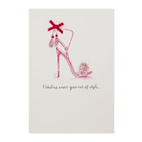 Fabulous Style Birthday Card【誕生お祝い/Signature】