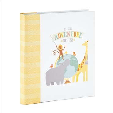 Let the Adventure Begin Baby Memory Book