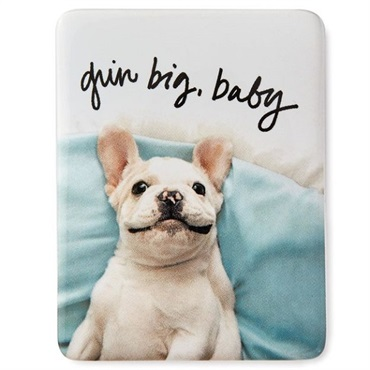 Grin Big Dog Magnet
