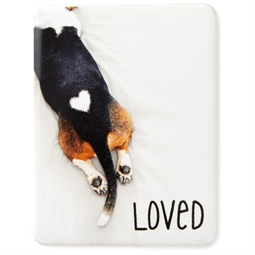 Loved Dog Magnet