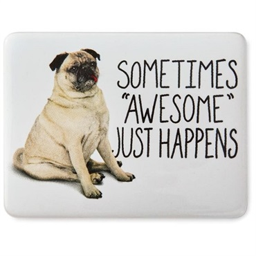 Awesome Happens Dog Magnet