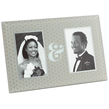 Ampersand 2Photo Picture Frame