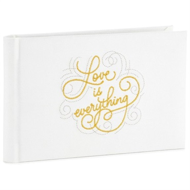 Love Is Everything Slim Wedding and Anniversary Album