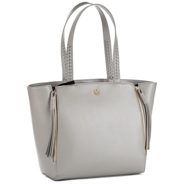 Mark & Hall Gray Expanding Tote Bag