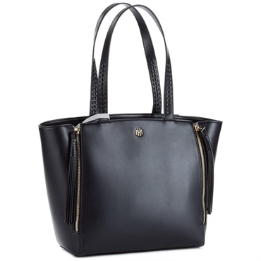 Mark & Hall Black Expanding Tote Bag