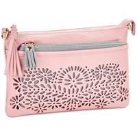 Mark & Hall Blush Diecut Crossbody Bag