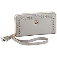 Mark & Hall Gray Wristlet