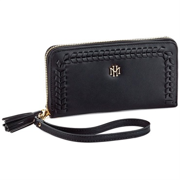 Mark & Hall Black Wristlet
