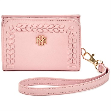 Mark & Hall Blush Trifold Wallet