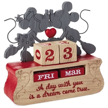Mickey and Minnie Dream Come True Perpetual Calendar