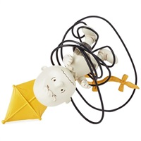 Peanuts (R) Charlie Brown With Kite Photo Holder