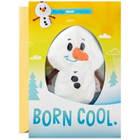 itty bittys(R) Disney Frozen Olaf Birthday Card With Stuffed Animal【誕生お祝い/その他】