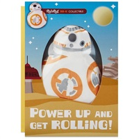 itty bittys(R) Star Wars  BB-8  Birthday Card With Stuffed Animal【誕生お祝い/その他】
