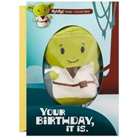 itty bittys(R) Star Wars  Yoda  Birthday Card With Stuffed Animal【誕生お祝い/その他】